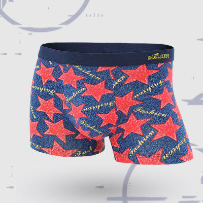 Men Underwear In The Waist Modal Boxer Shorts Four Corner Briefs
