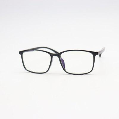 New Men and Women Anti-blue Glasses Frame Computer Goggles with Myopia Glasses Flat Mirror 001