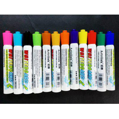 12 Color Whiteboard Pen Child Safety Non-toxic Preschool Pen Erasable Pen Office Whiteboard