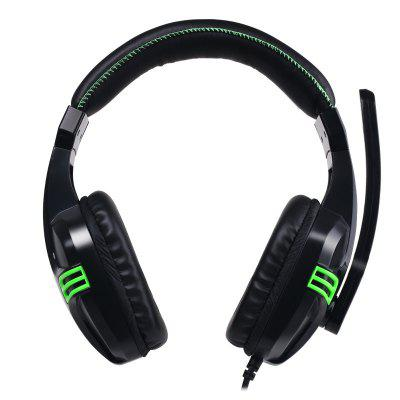 KX101 Computer Music Headset Game Headset Dual Hole with Microphone