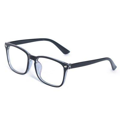 Classic Blue Film Goggles Wild Glasses Frame Anti-blue Light Flat Mirror