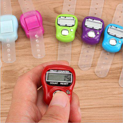 Head Counter Ring Manual Thumb Counter Electronic Display Finger Counter