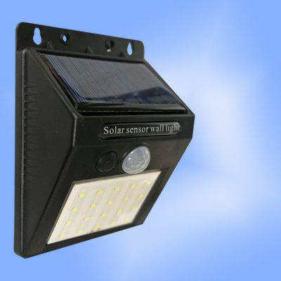 LED Solar Induction Light Outdoor Waterproof Lawn Garden Lighting Solar Street Light Wall Light