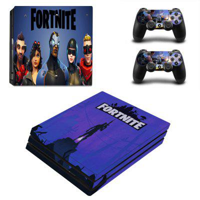 PS4 Pro Game Console Sticker Fort Night Series
