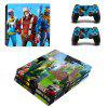 PS4 Pro Game Console Sticker Fort Night-serie - P8-H0209