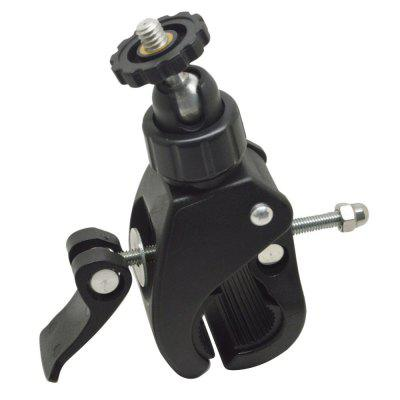 Bicycle Stand 360 Degree PTZ Tripod Adapter Accessories Sports 5 Camera Accessories Large Diameter Clip