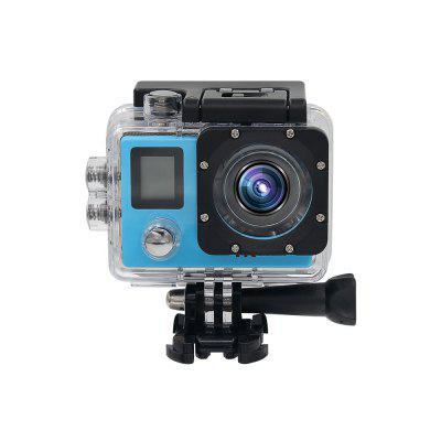 Hot 4k Sports Camera Lingtong Program Outdoor Waterproof Mini Camera With Wifi Dual Screen Image