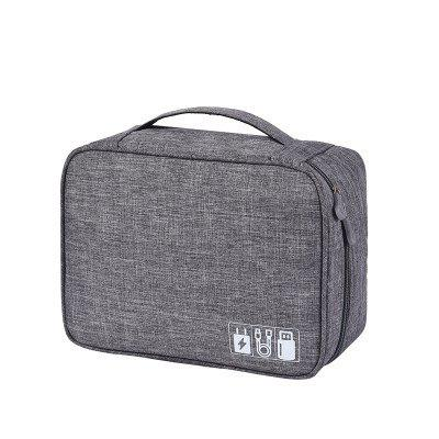 New Electronic Storage Bag Multi-function Data Cable Storage Bag Mobile Power Headset Storage Box Digital Package