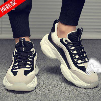 Breathable Mens Autumn Influx Of Casual Shoes, Sport Shoes 2020ins Wild Male White Increased