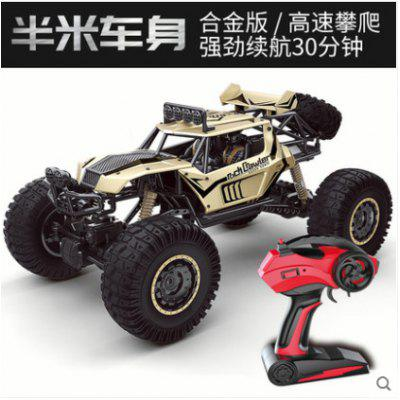 1: 8 Extra-large Remote Control Car Climbing Half A Meter Body Alloy Four-wheel Drive Sport Utility Vehicle Mountain Bigfoot Toy Model