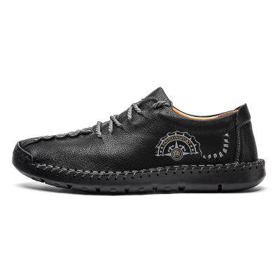 Comfortable Casual Shoes Men Fashion Microfiber Loafers