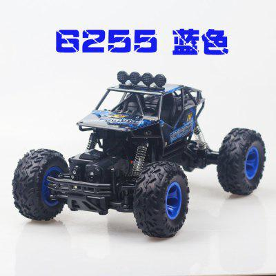Large Alloy Mountain Climbing Car Big Foot Four Wheel Drive Off Road Remote Control Toy Model for Children