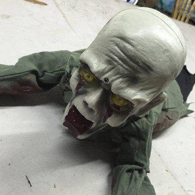 Halloween Decorations Props Toys KTV Bar Haunted House Ghost Induced Electric Crawling Horror
