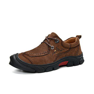 Men's Casual Leather Shoes Outdoor Sports Shoes