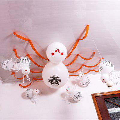 Halloween Balloons Spider Party Supplies Decorative Giant House Bar Arrangement
