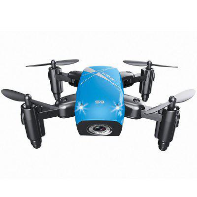 S9 4-channel RC Quadcopter Fixed Height WiFi Real-time Aerial Mini Remote Control Folding Drone Toy
