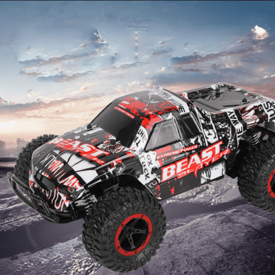 RC Off-road Remote Control Car Speed Charging Bigfoot Short Card Climbing Toys