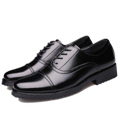 Business Classic Three Non-commissioned Officers Dress Fitting Shoes 07A Standard - Pronged Military Men