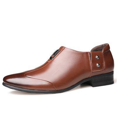 Mens Suits England Pointed Shoes Business Korean 6606