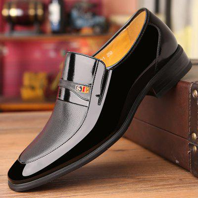 2020 Spring Shoes Men Dress Mens Business Casual Leather