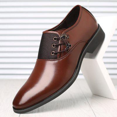 Male Summer Business Dress Shoes Tide Korean Version Of The British Men Pointed Child