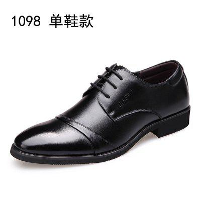Men Mens Dress Shoes Pointed Lace England Business Casual Classic