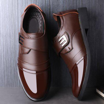 Men Leather Shoes British Business Korean Version Casual Dress