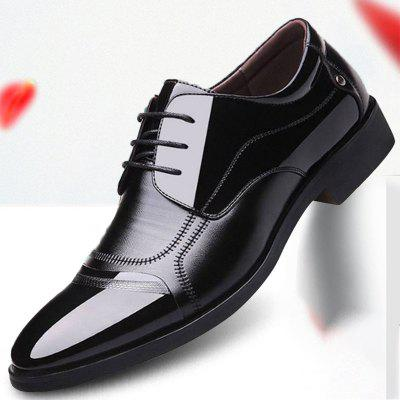 Men Business Casual Shoes Breathable Comfortable Dress Round Sub