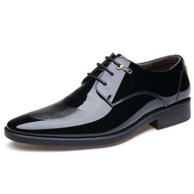 Men Shoes Fashion Business Suits England Pointed Leather