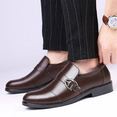 Men Shoes Fashion Casual British Style Business Leather