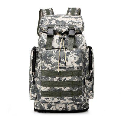 Outdoor Camouflage Mountaineering Bags Large-capacity Hiking Backpack