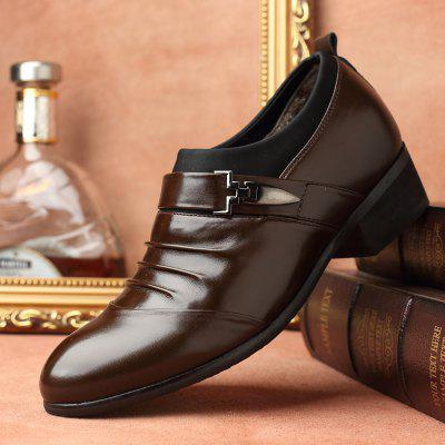 Men's Business Suits Leather Shoes Classic Casual Men's Shoes British Men Pointed Shoes Wedding Shoes Men's Business Suits Leather Shoes Classic Casual Men's Shoes British Men Pointed Shoes Wedding Shoes