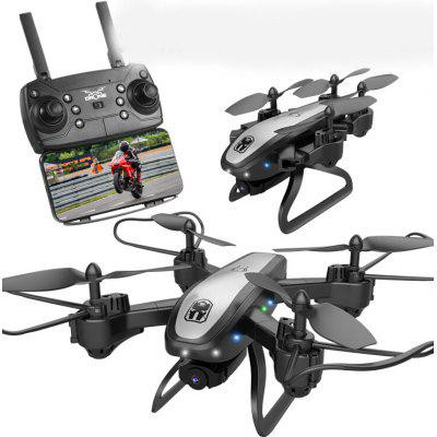 KY909 HD 4K Aerial Drones Remote Imaging Optical Flow Positioning Of The Following Model Folded Quadcopter Image
