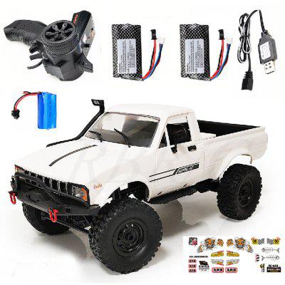RBR / C Naughty Dragon C24-1 Full-scale Four-wheel Drive Pickup Truck Model Toy Remote Control Car Climbing A Key