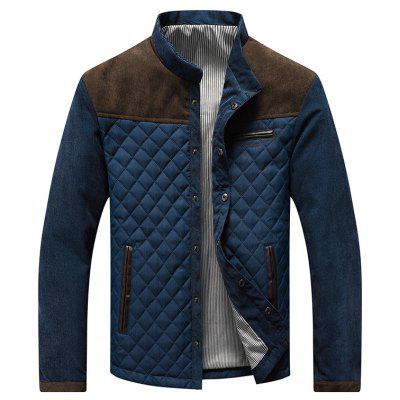 Mens Fall and Winter Slim Casual Jacket