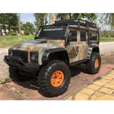 Huang Bo 1:10 Full Scale Climbing Four-wheel Drive Off-road Remote Control Car Charging Large Models