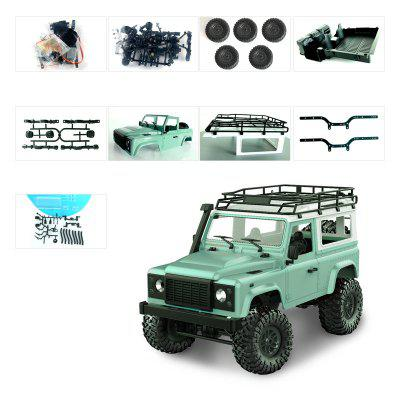1:12 Mang Cattle Guards D90K Childrens Toys Remote Control Car Four-wheel Drive Model DIY Modification