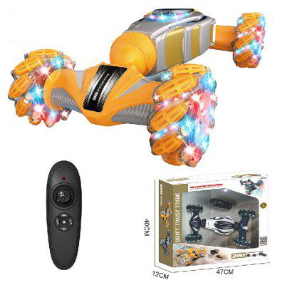 Watch Gesture Sensing Remote Control Car Spray Distortion Climbing Sport Utility Vehicle Light And Sound Toys For Children