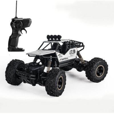 Large Remote Control Car Drift Four-wheel Drive Off-road Monster Truck Climbing Alloy High-speed Racing Toy Boy Charged