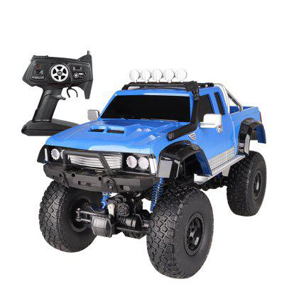 US Cause 1: 8 Pickup Climbing Racing Car Body Half A Meter High-speed Off-road Vehicle Remote Control Toy Charging Children