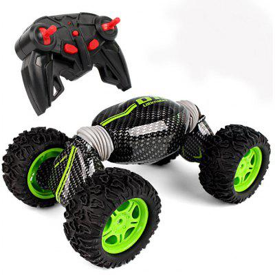 Off-road Dump 2.4G Remote Control Car Speed Stunt Distortion Deformation Of The Torsion Climbing Vehicle Four-wheel Drive Charging Model
