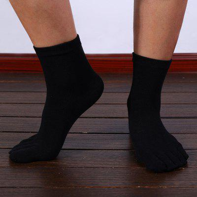 Toe Socks Wholesale Spring Models Cotton Men In Tube There With Sports