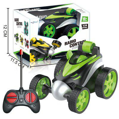 Plant Wireless Remote Control Stunt Car Dump Truck Rollover Boy Selling Childrens Video Games