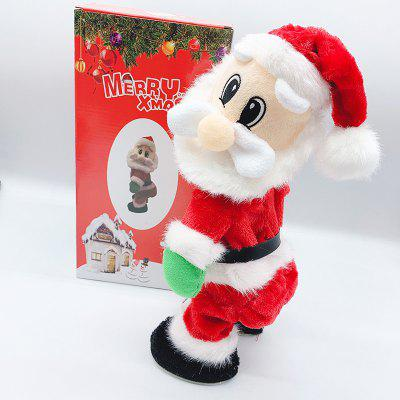 Christmas Shake Music Electric Santa Toy Dynamic Doll Toys Mall Decorative Little Gift
