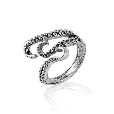 Hot Accessories Personality Fashion Retro Mens Octopus Ring Alloy Joint
