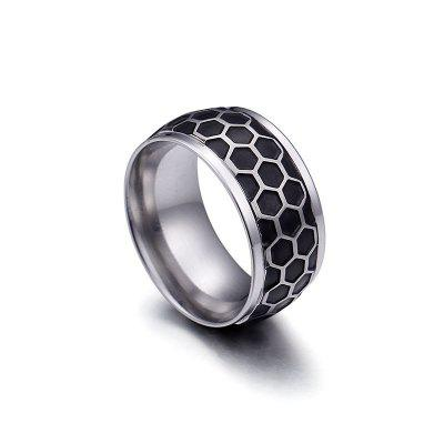 Jewelry Korean Fashion Creative Cool Personal Version Of Titanium Steel Men And Women Ring