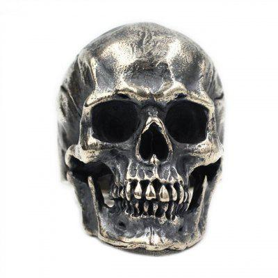 Popular Fashion Skull Rings Retro Hip Hop Roll Ring