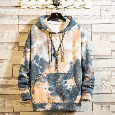 Casual Hooded Sweatshirt Autumn and Winter Sweater Men Women Loose Jacket