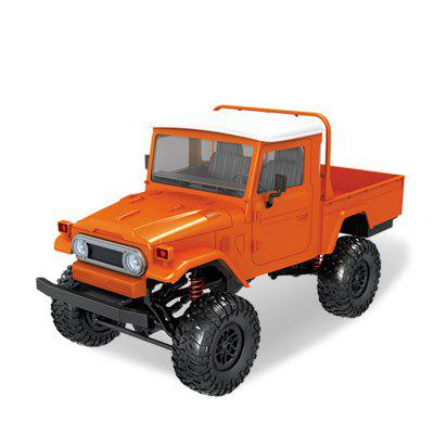Wireless 2.4G Remote Control RC Car Four-drive Military Truck Climbing Off-road Toy Car