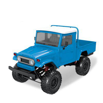 Wireless 2.4G Remote Control Four-drive Military Truck Climbing Off-road Toy Car